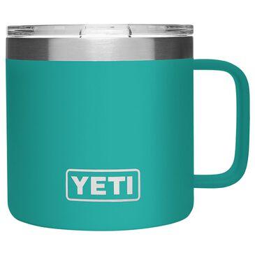 YETI Rambler 14 Oz Mug with MagSlider Lid in Aquifer Blue, , large