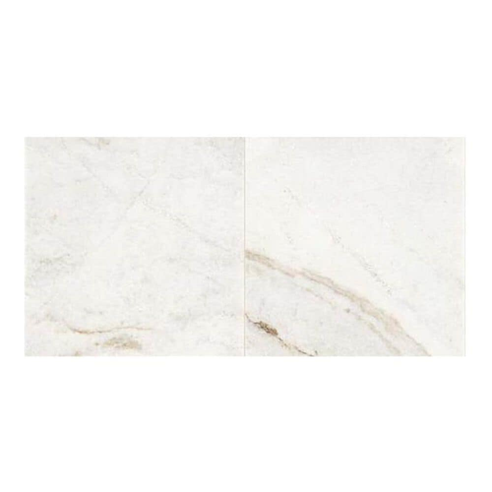 "Dal-Tile Marble Daphne White 12"" x 24"" Polished Natural Stone Tile, , large"