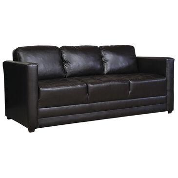 Hughes Furniture Sofa in San Marino Chocolate, , large