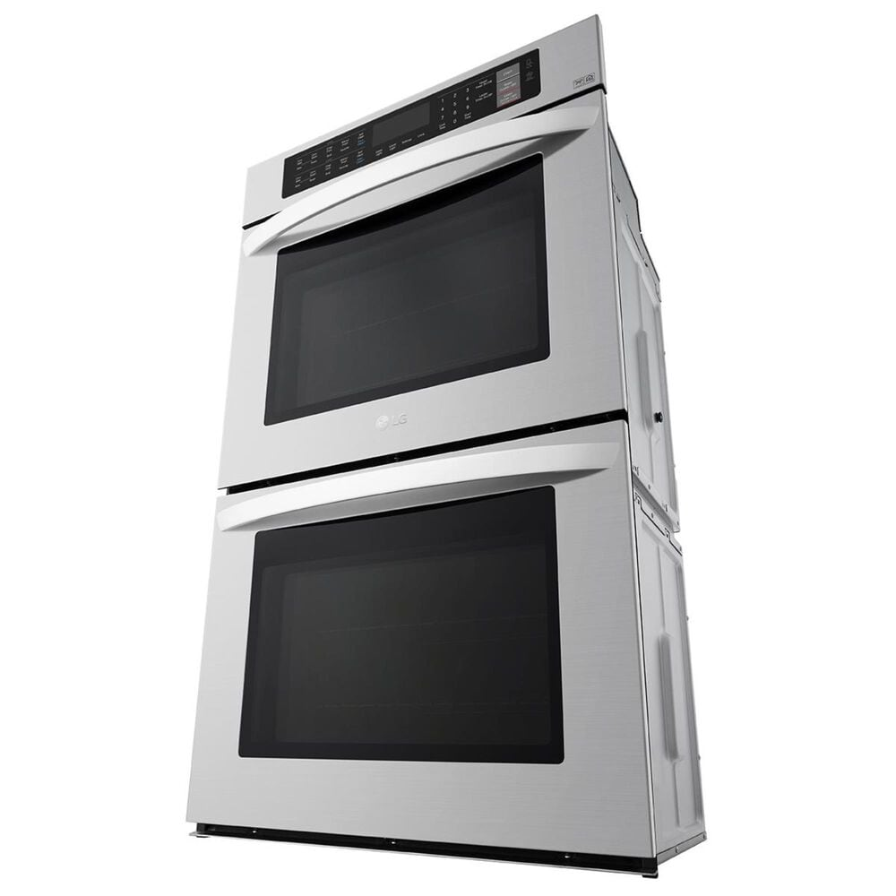"""LG 30"""" Electric Double Wall Oven in Stainless Steel, , large"""