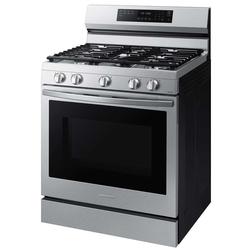 Samsung 6 Cu. Ft. Freestanding Gas True Convection Range with Wi-Fi and Air Fry in Stainless Steel, , large
