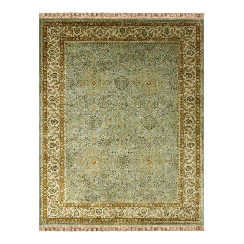 Feizy Rugs Amore 8239F 8' x 11' Ocean/Beige Area Rug, , large