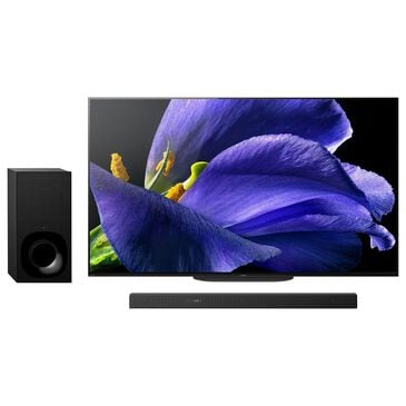 """Sony 65"""" Class A9G 4K OLED Ultra HD with HDR - Smart TV and 3.1.2 Soundbar System, , large"""