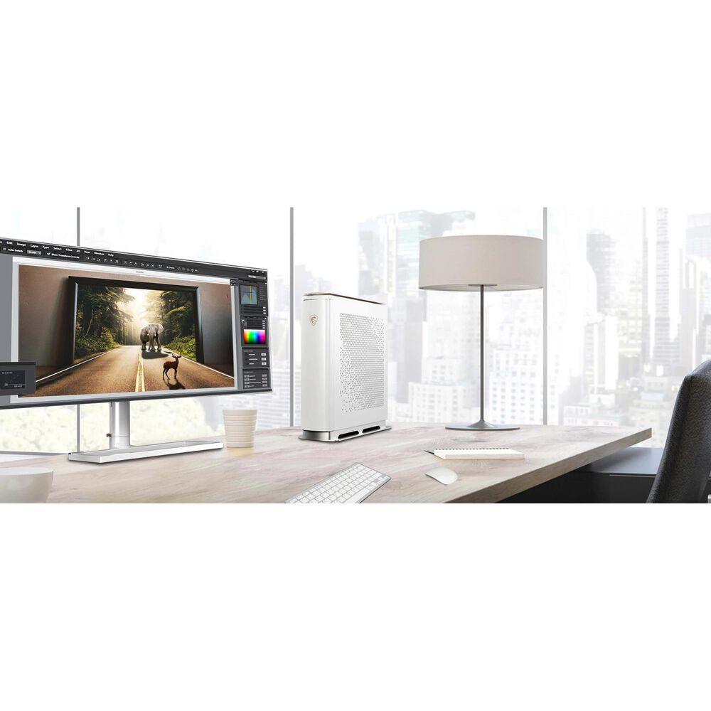 """MSI Prestige 34"""" Monitor in White, , large"""