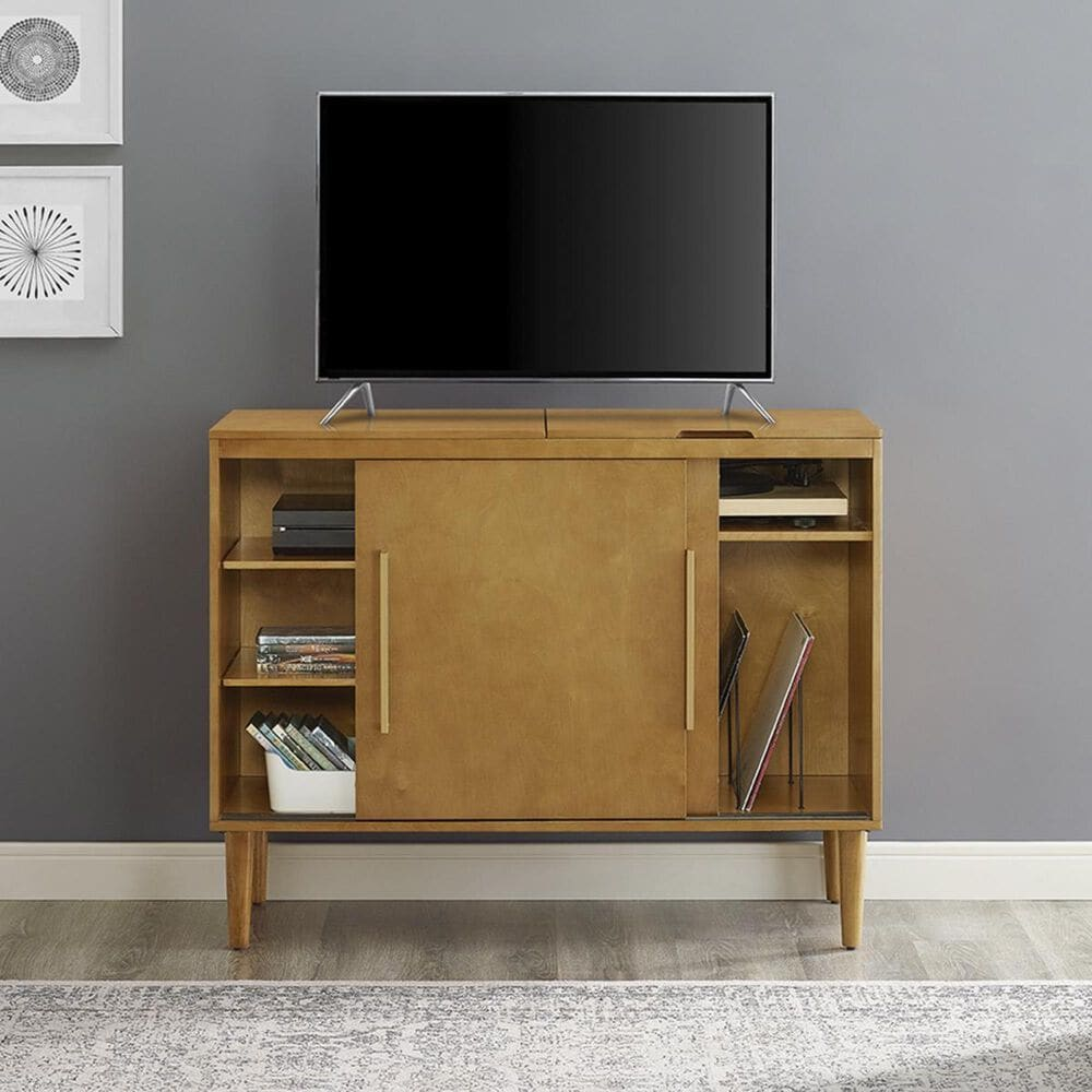 Crosley Furniture Everett Media Console in Acorn, , large