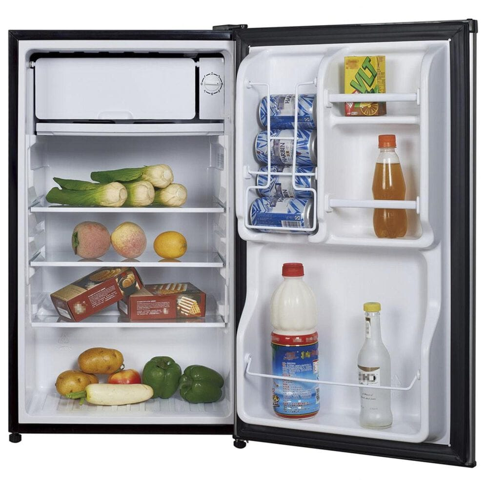 Magic Chef 3.5 Cu. Ft. Mini Refrigerator with Full-Width Freezer Compartment with Stainless Door, , large