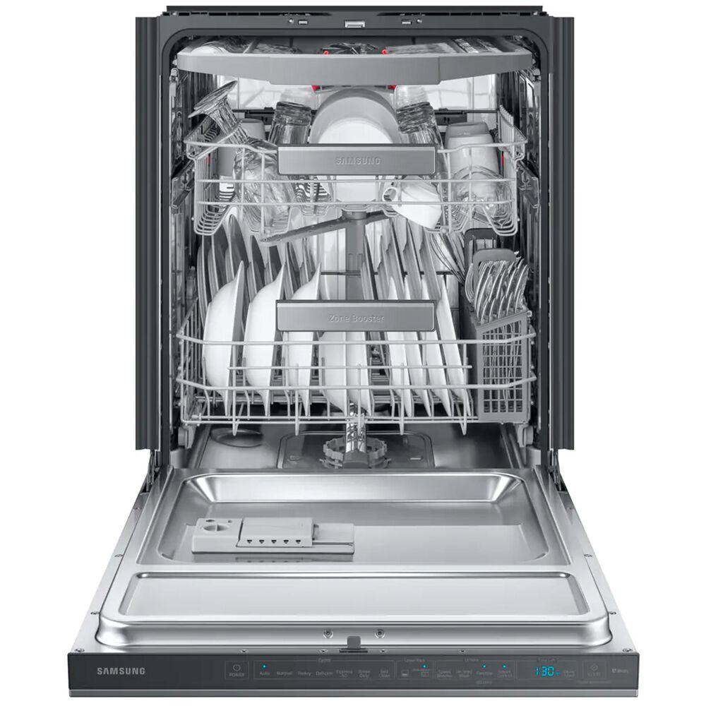 Samsung Built-In Dishwasher Linear Wash 39 dBA in Fingerprint Resistant Black Stainless Steel , , large