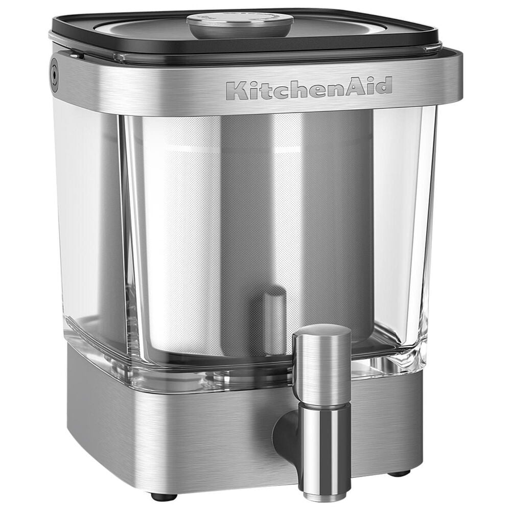 KitchenAid Xl Cold Brew Coffee Maker in Stainless Steel, , large