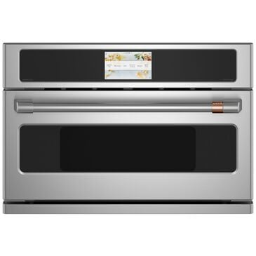 """Cafe 30"""" Five in One Oven with 240V Advantium Technology in Stainless Steel , Stainless Steel, large"""