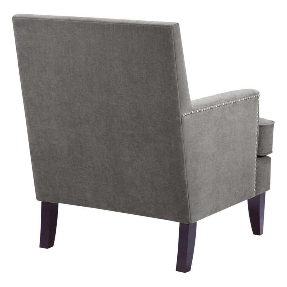Hampton Park Madison Park Track Arm Club Chair in Grey, , large