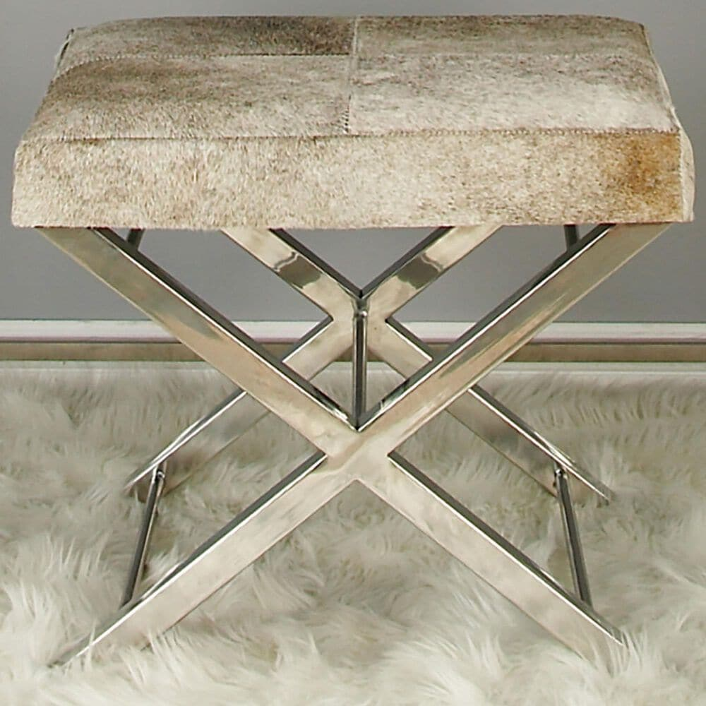 Maple and Jade Stool in Grey, , large