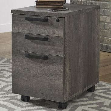 Belle Furnishings Tanners Creek File Cabinet in Greystone, , large