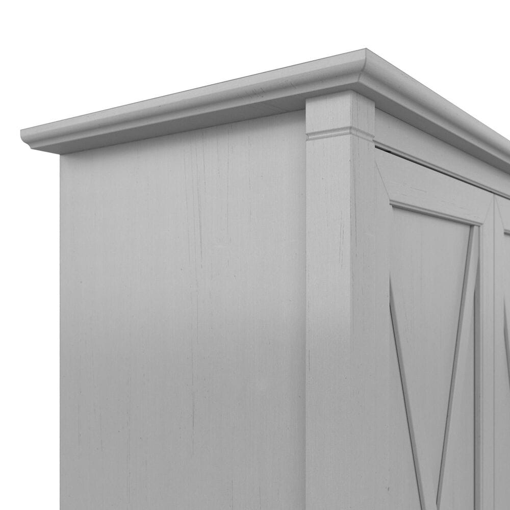 Bush Key West Kitchen Pantry Cabinet in Cape Cod Gray, , large