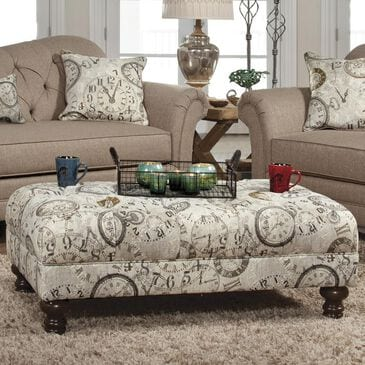 Hughes Furniture Ottoman in Timeless Patina, , large