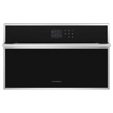 "Monogram Minimalist 30"" Electric Single Wall Oven in Stainless Steel, , large"