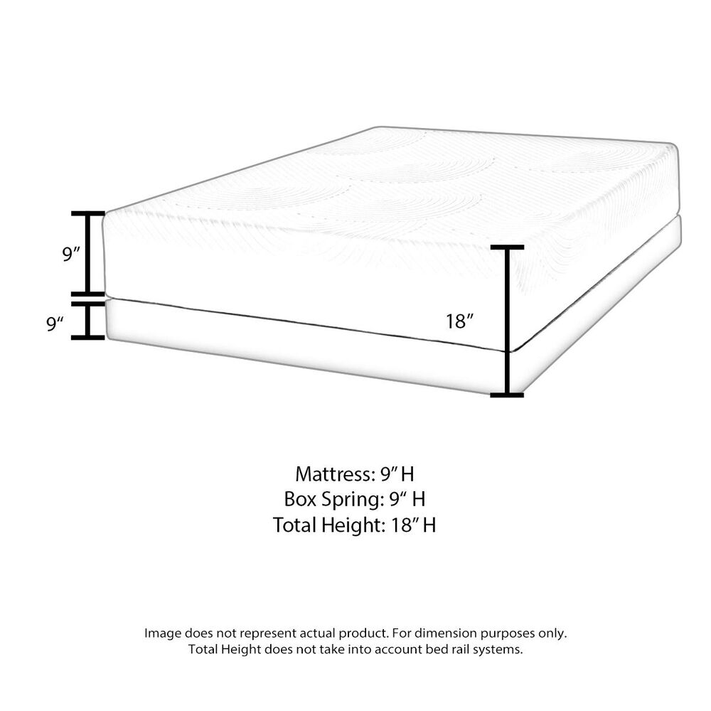 Omaha Bedding Regal Posture Pillow Top Plush Queen Mattress Set, , large