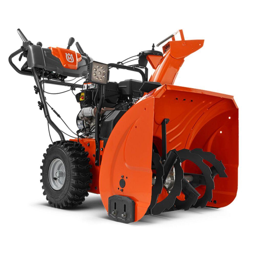 "Husqvarna ST224 24"" 208cc Two-Stage Electric Start Snow Blower in Orange, , large"