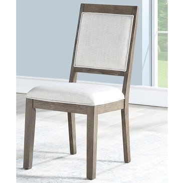 Crystal City Molly Side Chair in Grey Washed, , large