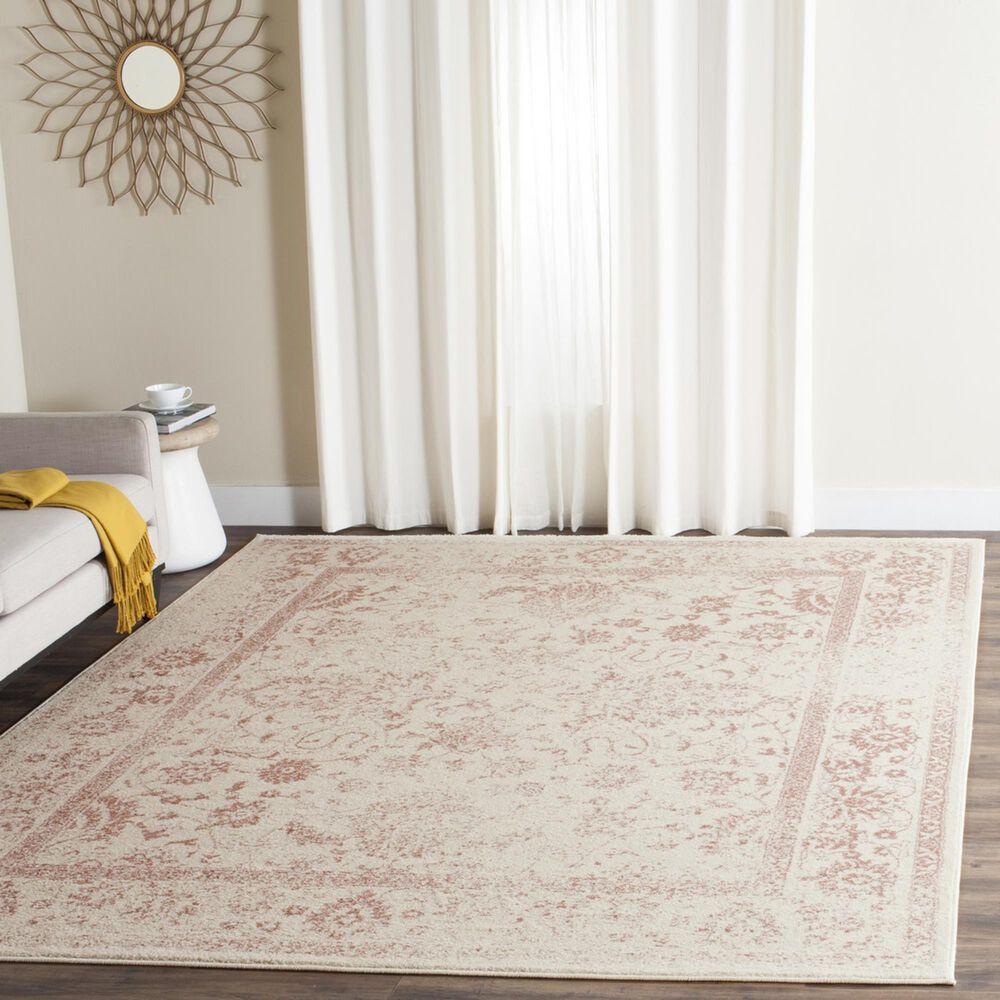 Safavieh Adirondack ADR109H 11' x 15' Ivory and Rose Area Rug, , large