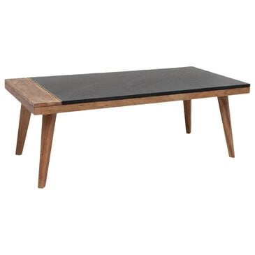 Crystal City Caspian Cocktail Table in Walnut, , large