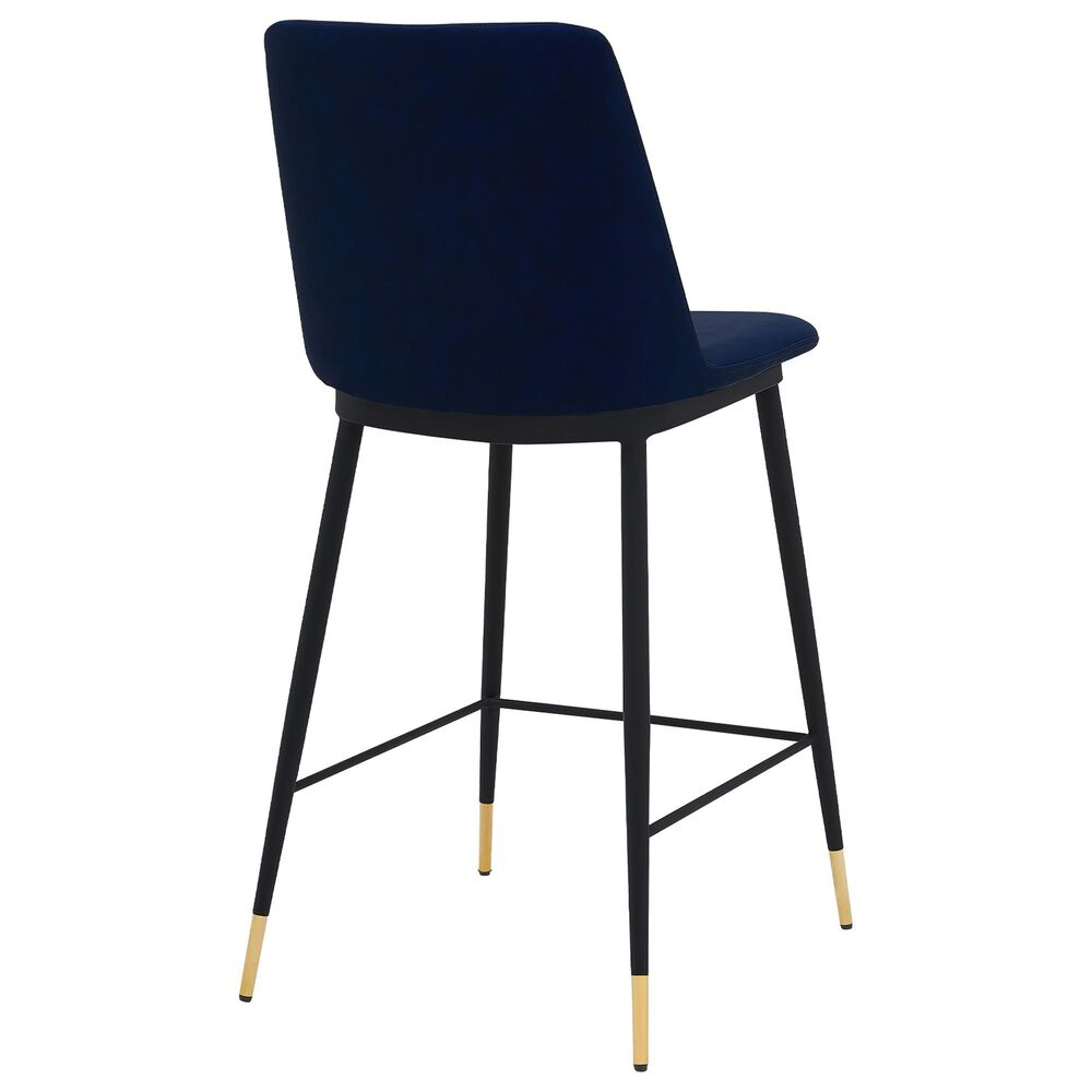 """Blue River Messina 26"""" Counter Stool in Blue, , large"""