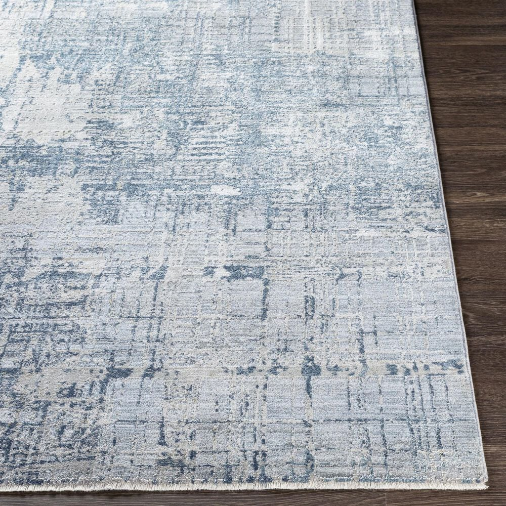 "Surya Brunswick 9' x 12'2"" Blue, Sage and Gray Area Rug, , large"