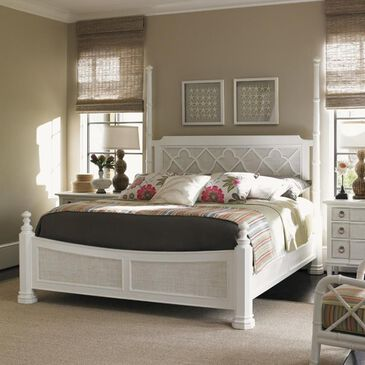 Tommy Bahama Home Ivory Key Southampton Queen Bed in Somers Isle, , large