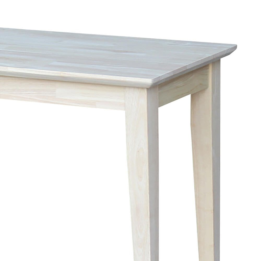 International Concepts Bench in Unfinished, , large