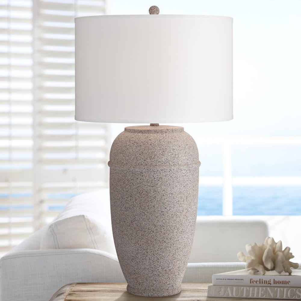 Pacific Coast Lighting Kofa Table Lamp in Dark Concrete, , large