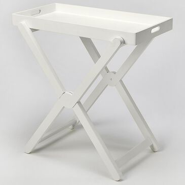 Butler Edna Tray Table in White, , large