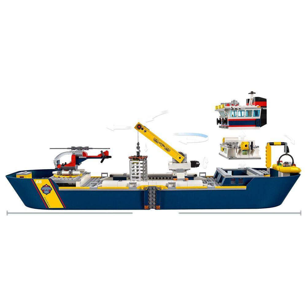 LEGO City Ocean Exploration Ship Building Set, , large
