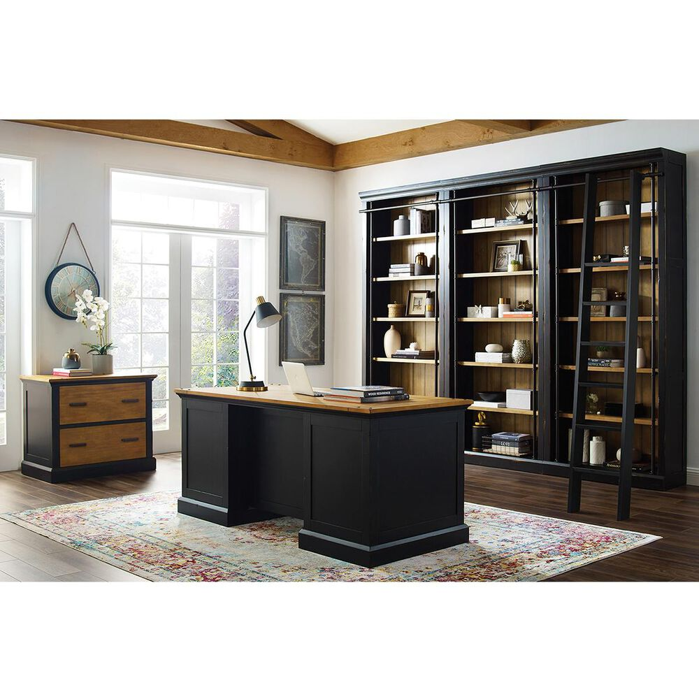 Wycliff Bay Toulouse Lateral File in Aged Ebony, , large