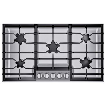 "Thermador 36"" Masterpiece Pedestal Star Burner Gas Cooktop - Stainless Steel, , large"