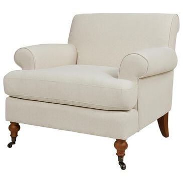 Jennifer Taylor Home Alana Accent Chair in Light Beige and Linen, , large