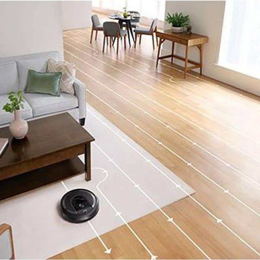 iRobot Roomba I7 Wi-Fi Connected Robot Vacuum in Black, , large