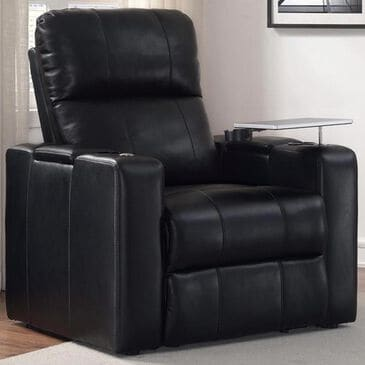 Prime Resources International Larson Power Home Theater Recliner in Black, , large