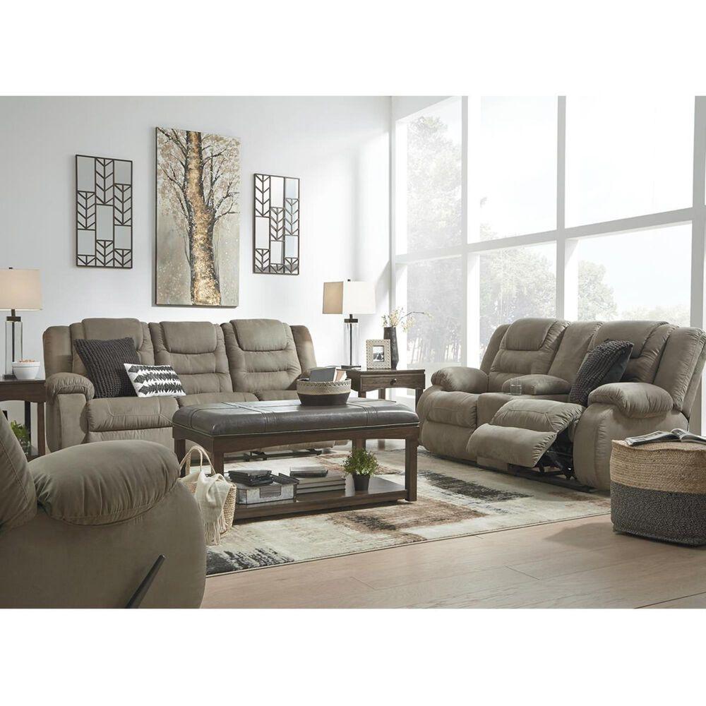 Signature Design by Ashley McCade Manual Reclining Sofa in Cobblestone, , large
