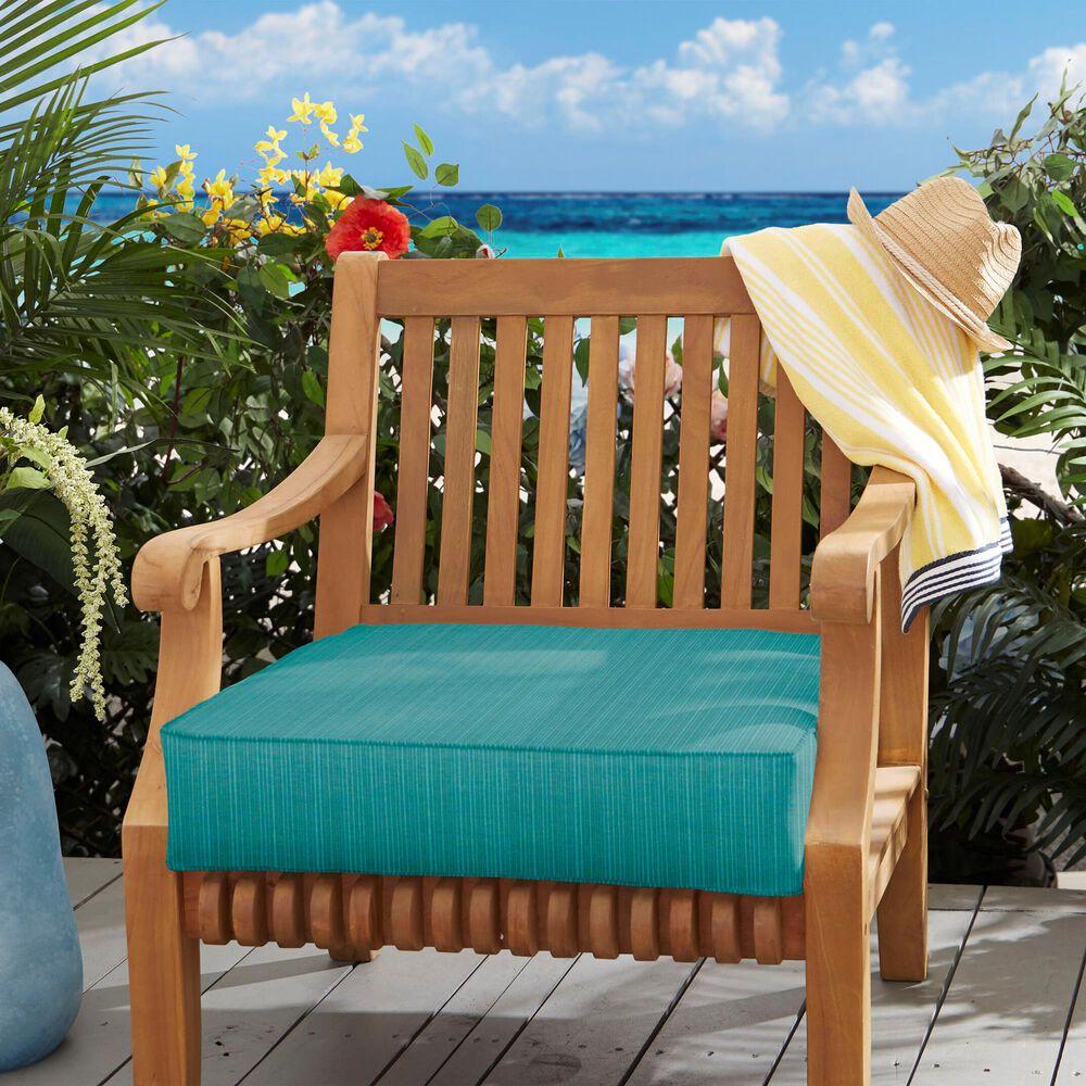 "Sorra Home Sunbrella 22.5"" Deep Seating Cushion in Dupione Deep Sea, , large"