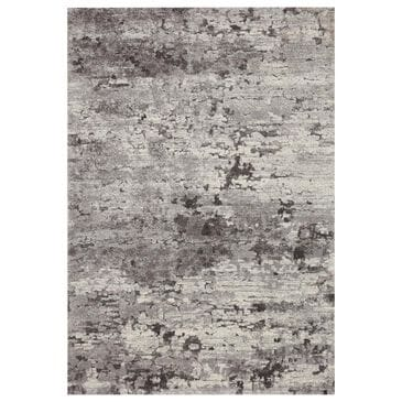 "Loloi Theory THY-08 5'3"" x 7'8"" Charcoal and Grey Area Rug, , large"