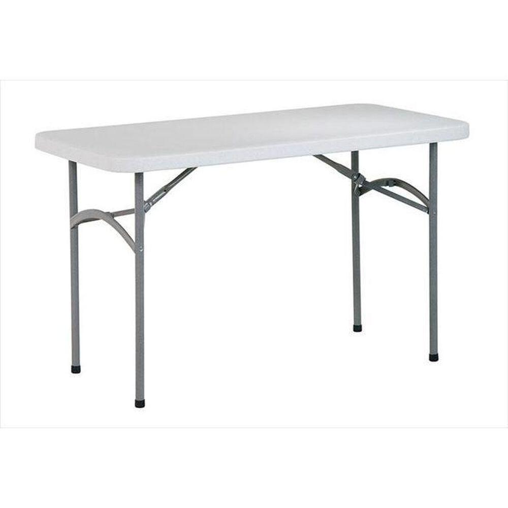 OSP Home 4' Resin Multi- Purpose Folding Table, , large