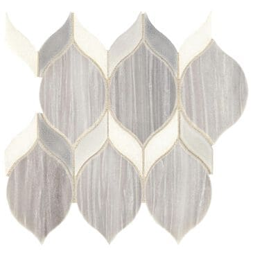 Dal-Tile Fonte Nautical Grey Blend Natural Stone Mosaic Tile, , large