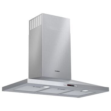 """Bosch 36"""" Pyramid Canopy Chimney Hood in Stainless Steel, , large"""
