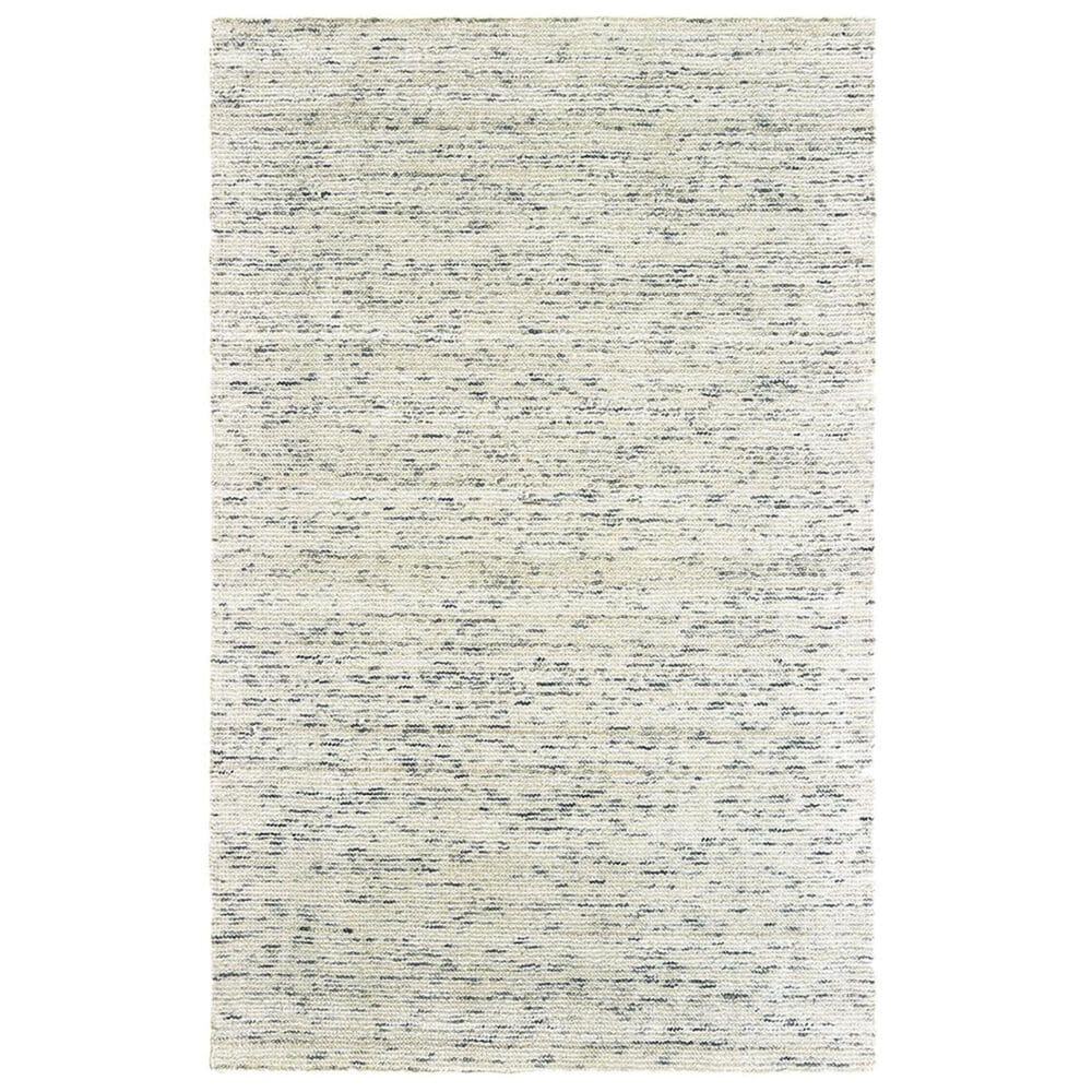 Oriental Weavers Lucent 45902 6' x 9' Ivory and Stone Area Rug, , large