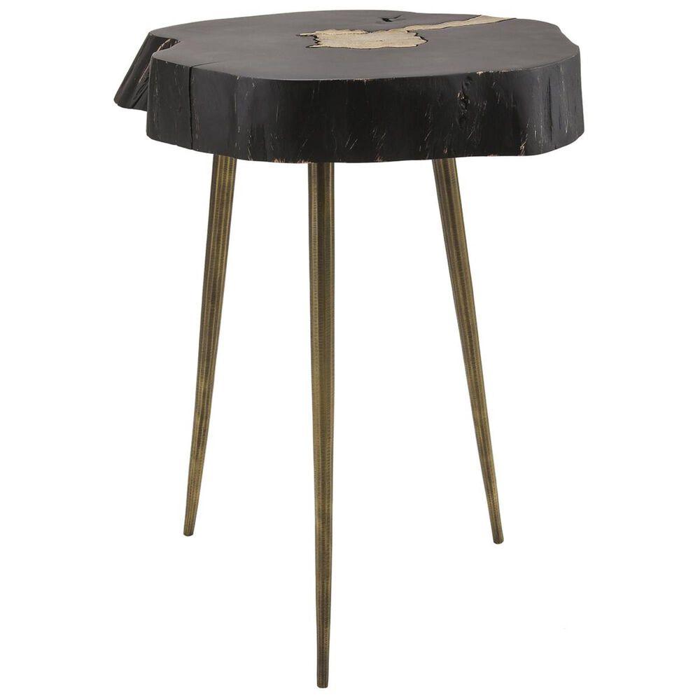Tov Furniture Timber Side Table in Black, , large