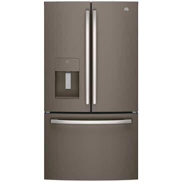 GE Appliances 25.6 Cu. Ft. French Door Refrigerator Energy Star in Slate , , large