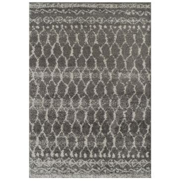 "Dalyn Rug Company Rocco RC5 3'3"" x 5'1"" Charcoal Area Rug , , large"