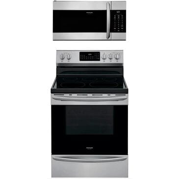 """Frigidaire Gallery 2-Piece Kitchen Package with 30"""""""" Electric Range in Stainless Steel, , large"""
