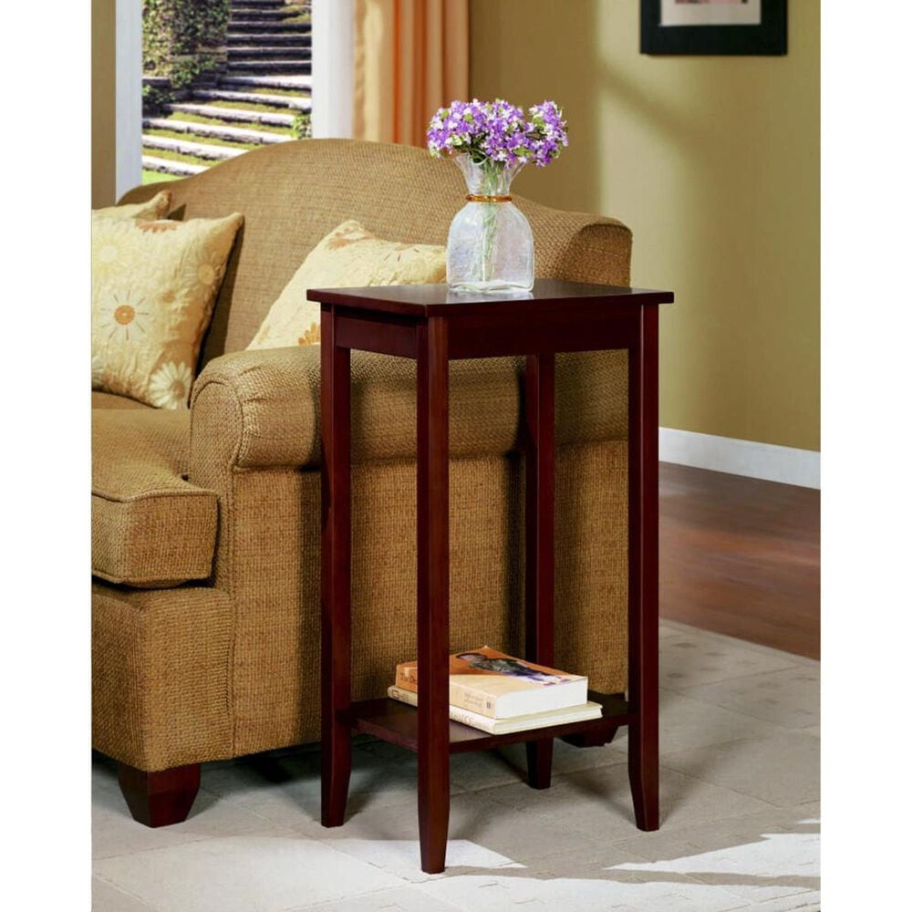 DHP DHP Rosewood Tall End Table in Coffee, , large