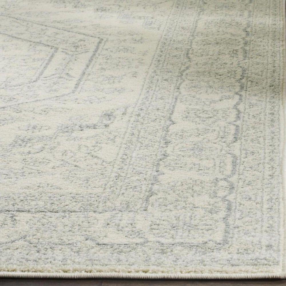 "Safavieh Adirondack ADR108S 2'6"" x 10' Ivory and Slate Runner, , large"