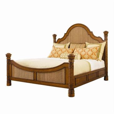 Tommy Bahama Home Island Estate Round Hill King Bed, , large